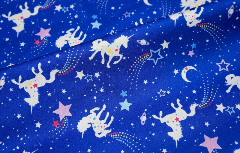 Special Price unicorn fabric Unicorn and stars from DinoFabric by DaWanda.com