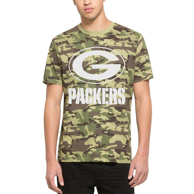 456a3e098 Green Bay Packers  47 Alpha T-Shirt - Camo