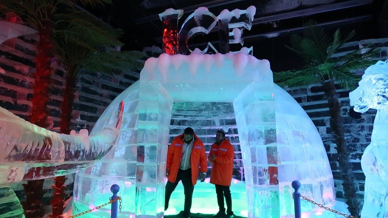 Inside the new Ice Park at Dubai Garden Glow Dubai