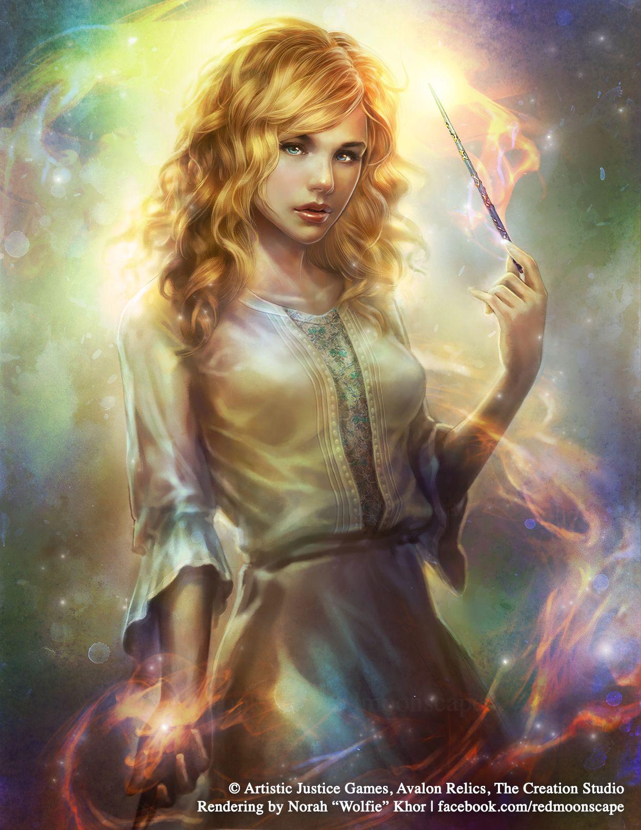 avalon relics: angiewolfie-chama on deviantart | fantasy art