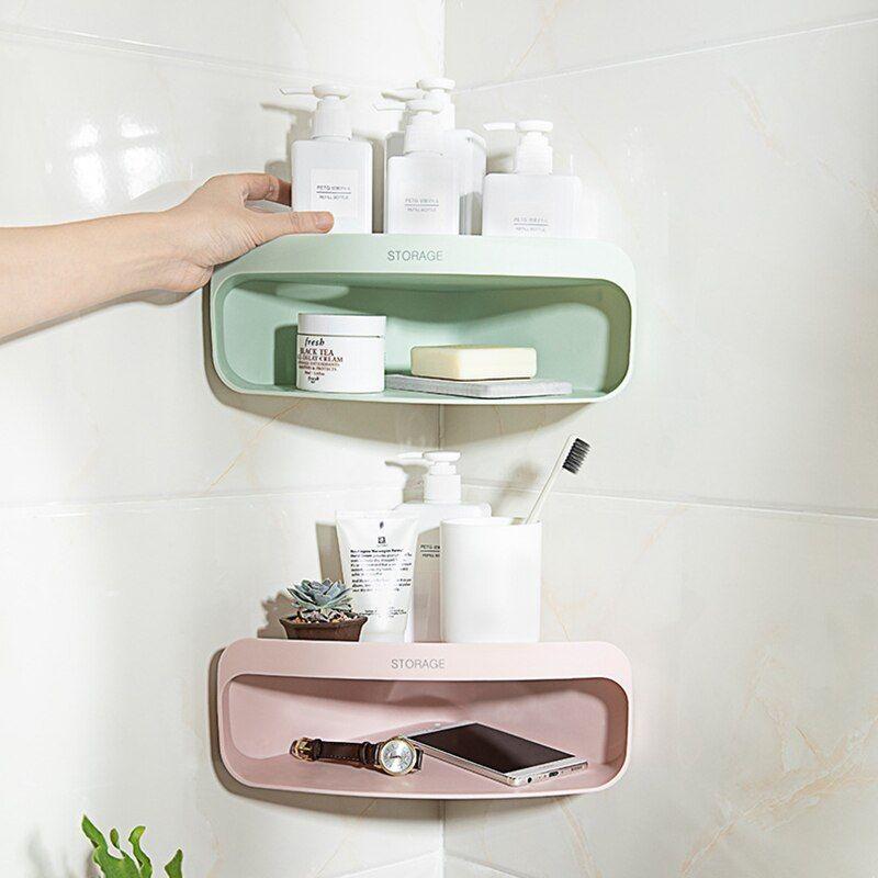 Kunststoff Saugnapf Kosmetik Lagerung Rack Dusche Gel