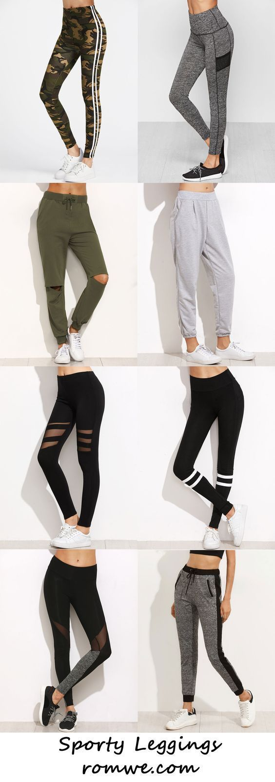 Leggings Sporty Leggings 2017 Romwe Com с - Sportlich Wohnzimmer