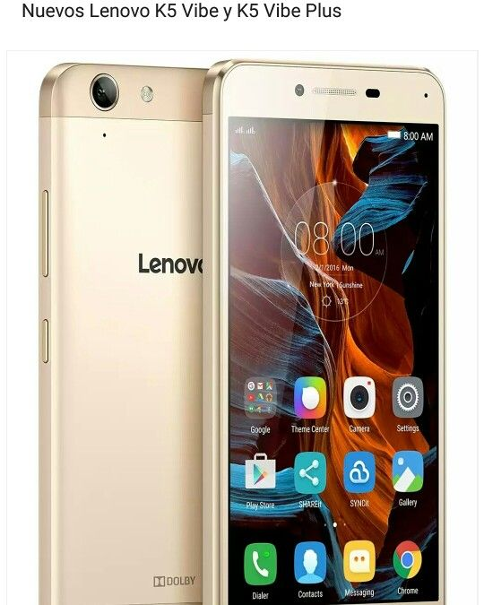 Lenovo K5 Vibe y K5 Vibe Plus  www.androidtutoriales.com