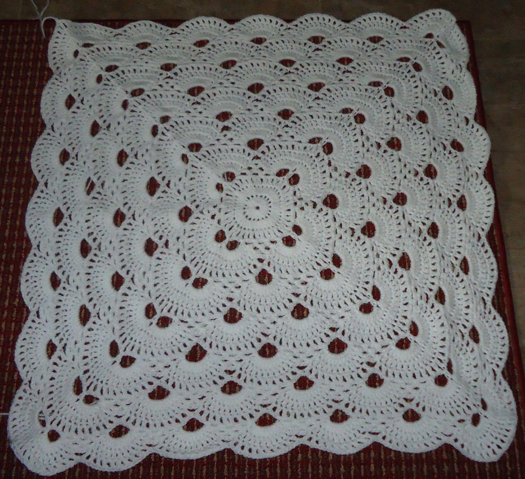 Een variatie op de Virus-sjaal is de virus deken: Ook leuk met ...