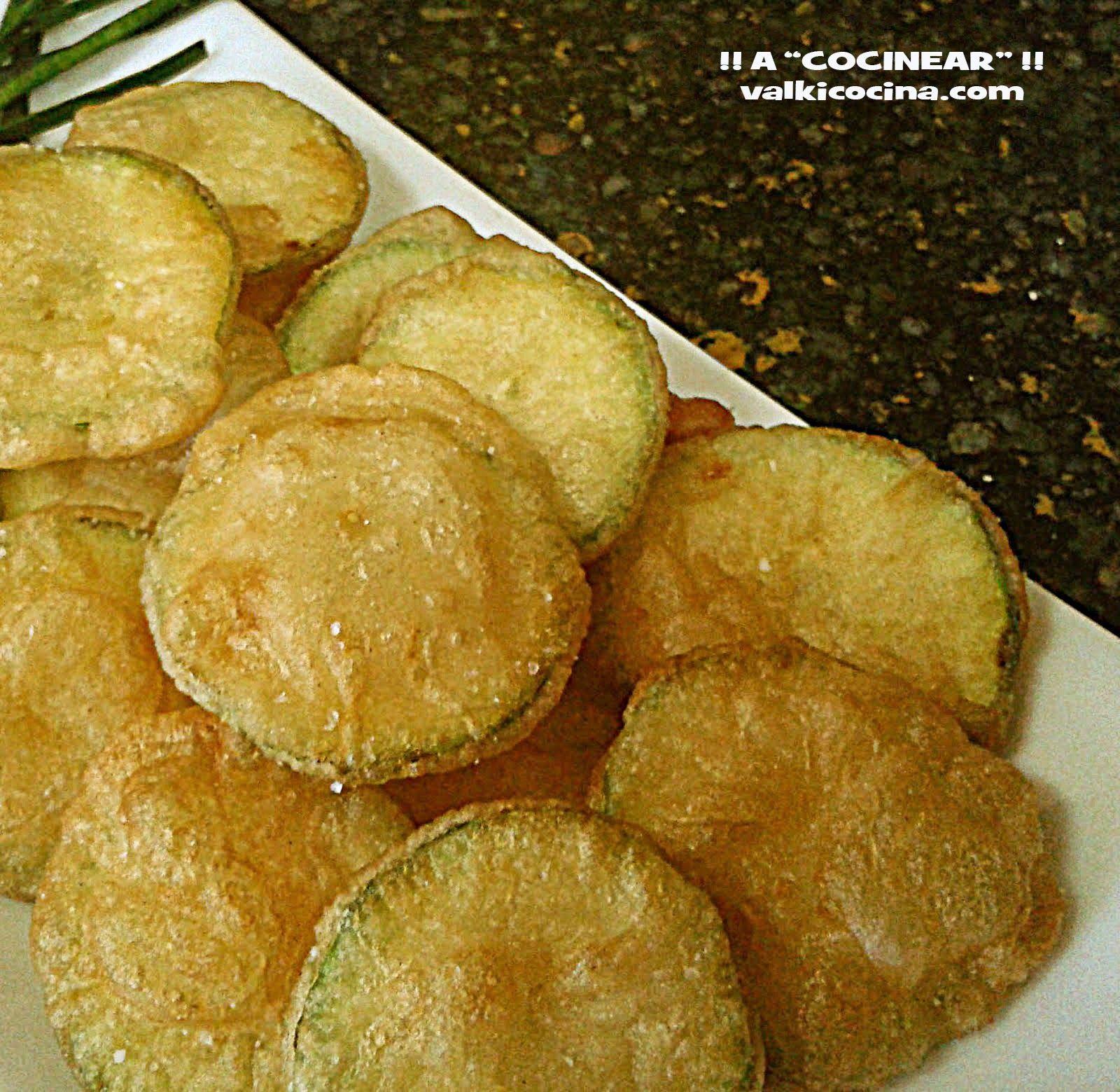 Chips de calabacín en tempura: aperitivo, entrante, guarnición, ... tú eliges     Una rica forma de disfrutar de las verduras, ya que este ...