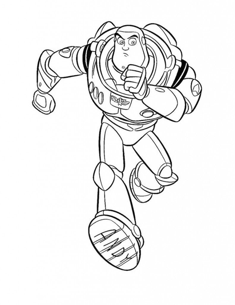 Buzz Lightyear Coloring Pages for Kids | Disney トイストーリー ...