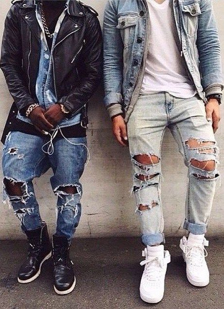 ripped jeans how to make ripped jeans diy clothing