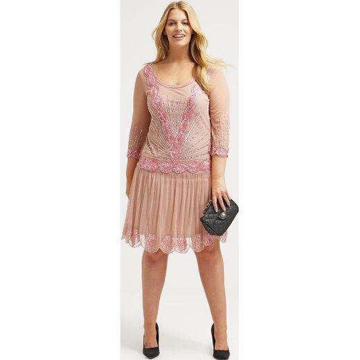 29d5e2663c1a Flapper Gatsby 1920s Art Deco Dress Frock and Frill Plus Size Evening 3/4  Sleeve