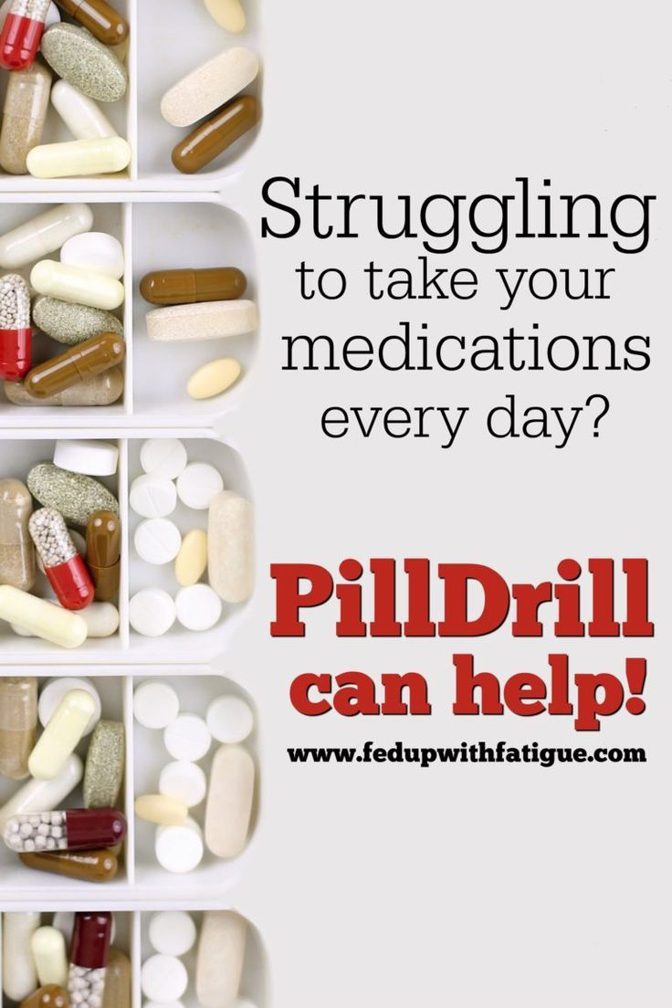 Simplify Your Everyday Pill Taking With Pilldrill Fed Up With Fatigue Chronic Fatigue Symptoms Chronic Fatigue Syndrome Symptoms Chronic Fatigue Syndrome Diet