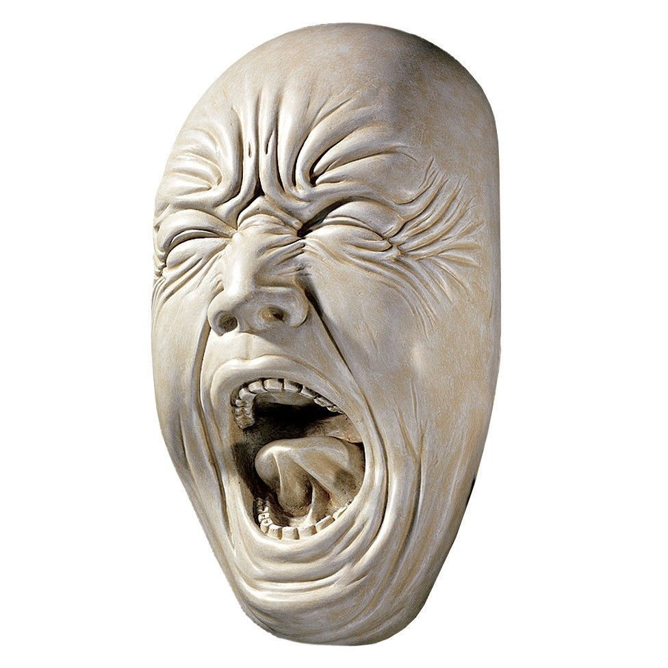 how to make a face sculpture