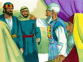 los líderes religiosos ordenaron a Pedro y a los otros discípulos que no predicaran ni enseñaran más en el nombre de Jesús
