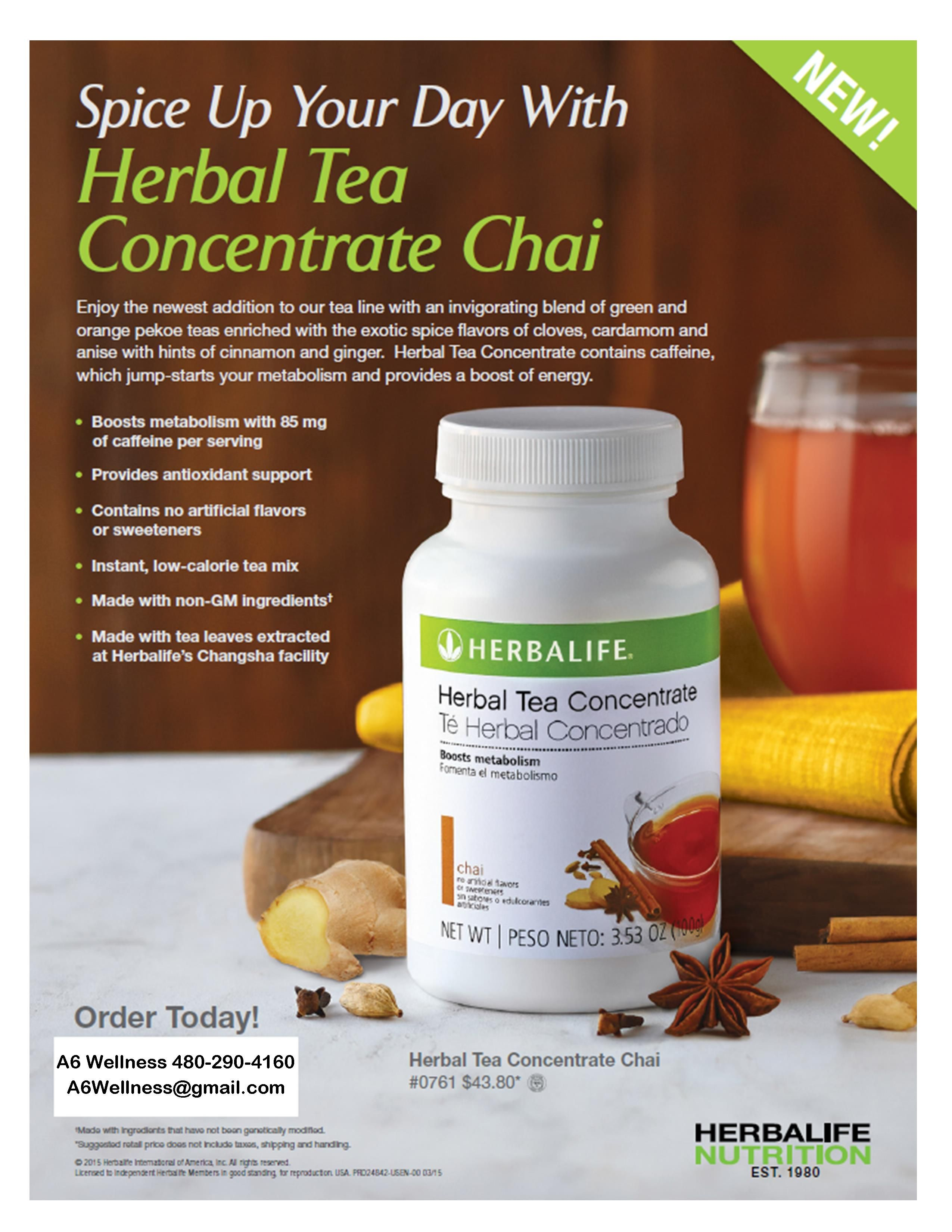 Try My Chai Tea Get Fit Now Https Www Goherbalife