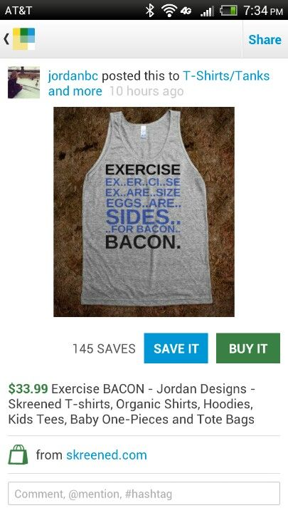 This shirt is so me!