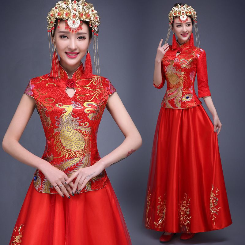 Traditional Chinese Wedding Dress Modern