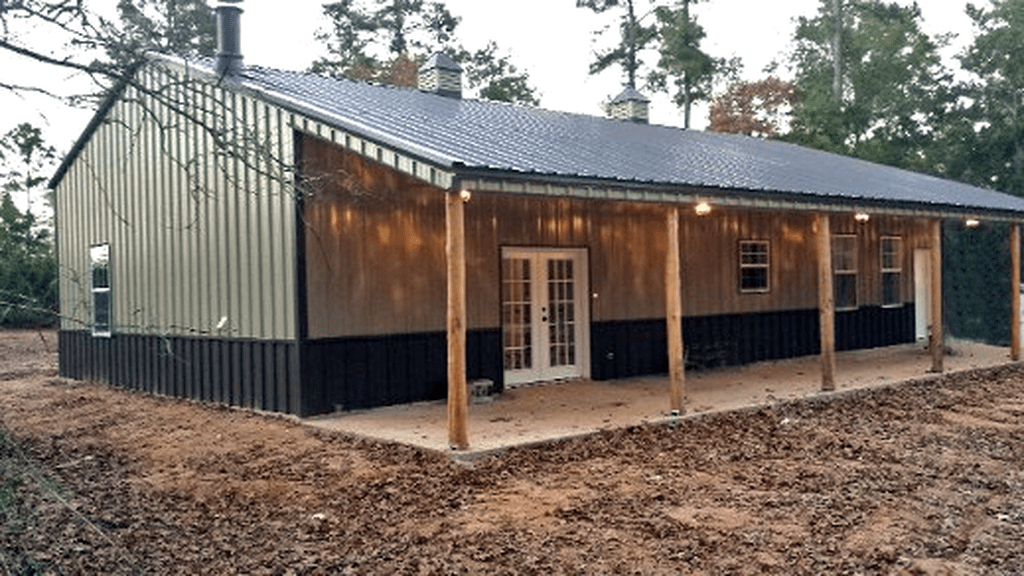 45 Perfect Metal Buildings Design Ideas For Stylish And Modern Design In 2020 Metal Building Designs Metal House Plans Steel Building Homes