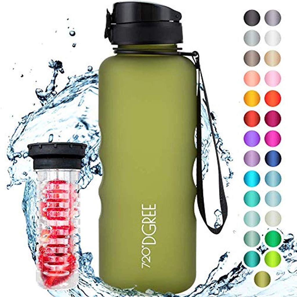 720dgree Trinkflasche Uberbottle Fruchtebehalter 15l Bpa Frei Wasserflasche Fur Sport Fitness Outdoor Wandern G In 2020 Wasserflasche Sportflasche Trinkflasche