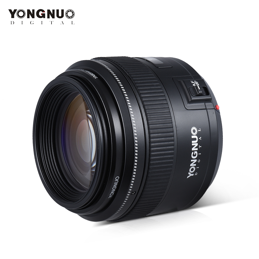 176.00$  Buy here - http://aliseg.worldwells.pw/go.php?t=32791599546 - YONGNUO YN85mm f1.8 AF/MF Standard Medium Telephoto Prime Lens Fixed Focal Camera Lens for Canon EF Mount EOS Cameras 176.00$