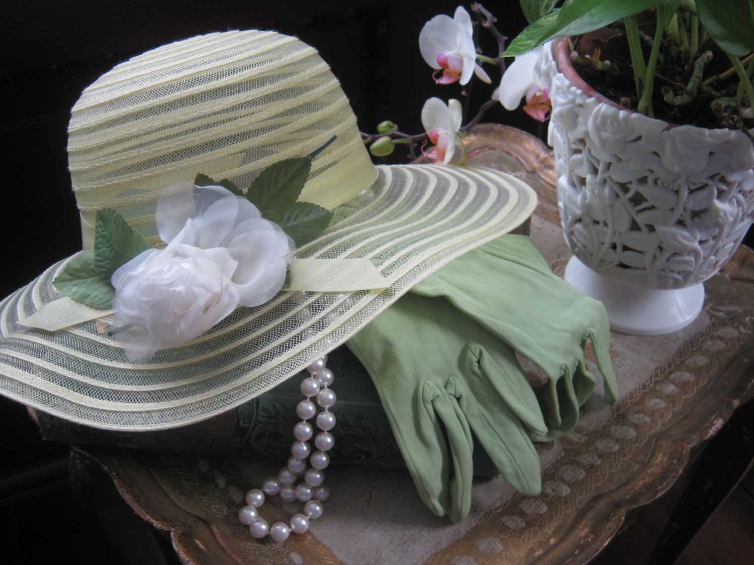 gloves & pearls no less