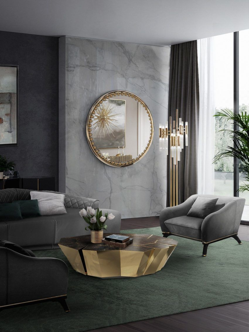 50 Modern Center Tables For Luxury Living Rooms Atahiya Luxury Living Room Gold Living Room Decor Luxury Furniture