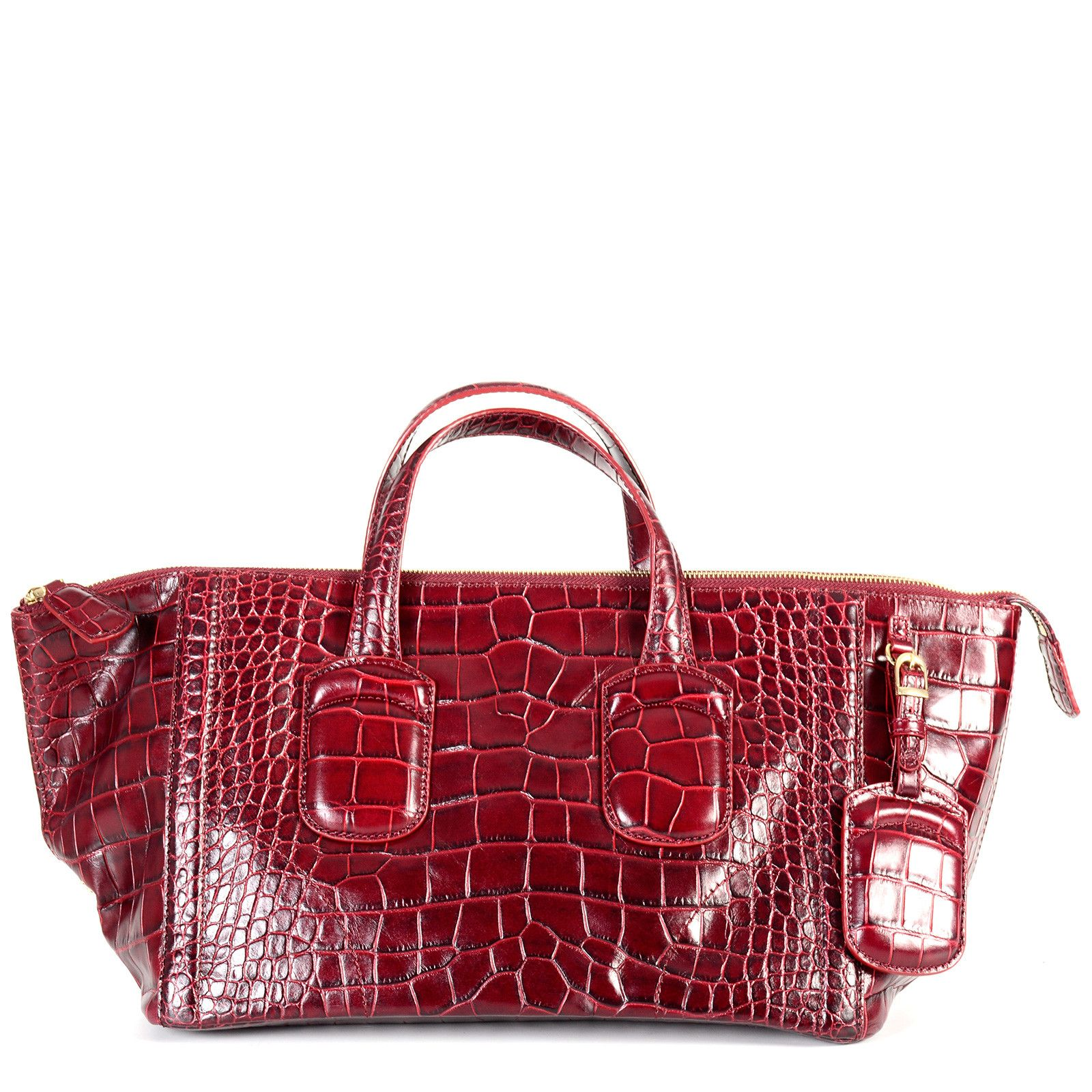 Cheap Real Finishline Original Cheap Online Boston Tote Bag - Only One Szie / Red Max Mara Outlet Excellent Exclusive OQUj6s7B