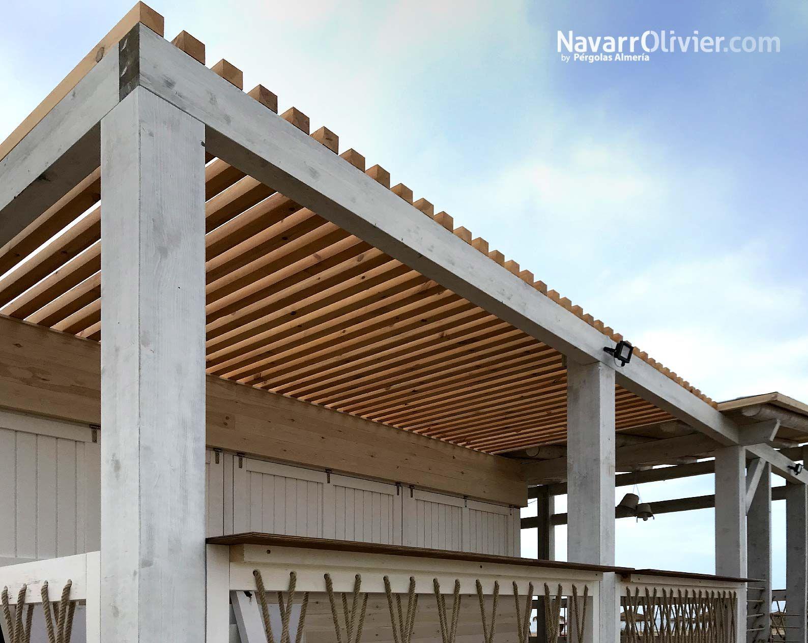 Chiringuito Costa Colón Mazagón Construccion En Madera