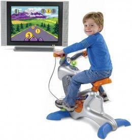 Kids Exercise Bikes For Children Junior Stationary Fitness Bike