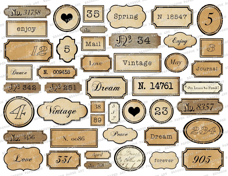 120 Sheets Scrapbooking Stickers Washi Paper Planner Sticker Vintage Ephemera Pack for Scrapbooking Crafts DIY Decoration
