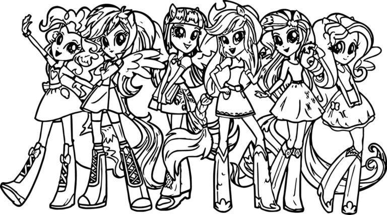 equestria girls ausmalbilder 100 ausmalbilder zum drucken