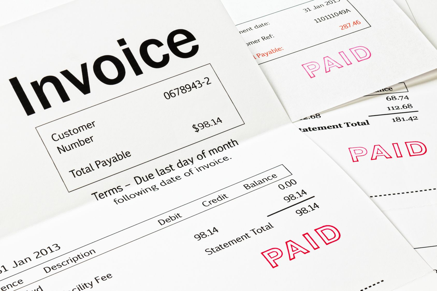 Request An Abbyy Flexicapture For Invoices Demo Paid Stamp