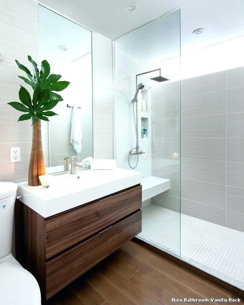 Ikea Godmorgon Vanity Bathroom Bathroom Vanity Hack From Kenning Design With Contemporary B Minimalist Bathroom Design Minimalist Bathroom Ikea Bathroom Vanity