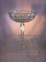 Glass Pedestal Compote Dish