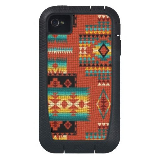 Southwestern Pattern iPhone4 Xtreme tough case