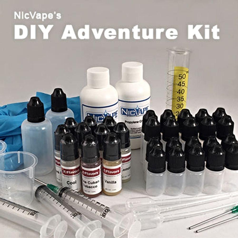 E Liquid Diy Adventure Kit Diy E Liquid Vape Vape Accessories