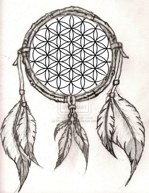 Flower Of LifeDreamcatcher Design I Thought Up And Might Get What Extraordinary Chippewa Dream Catchers