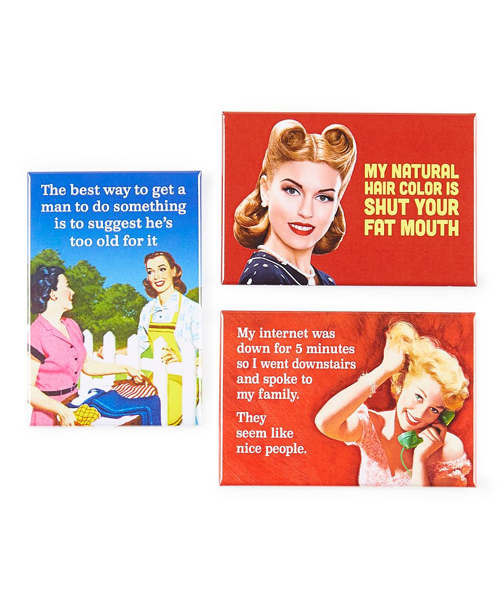 'My Internet Was Down' Magnet Set