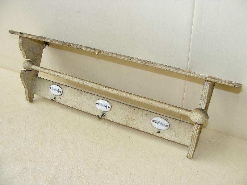 Schones Altes Kuchenregal Regal Kuche Antik Holz Handtuchhalter Hakenleiste In Antiquitaten Amp Handtuchhalter Handtuchhalter Ohne Bohren Handtuchhalter Kuche