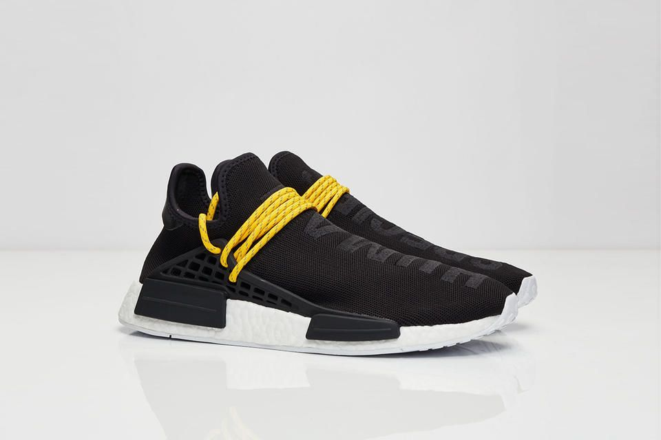 Adidas Originals Pharrell Williams NMD human race black