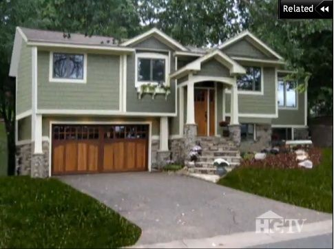 Split Level House Curb Appeal After Hgtv Curb Appeal