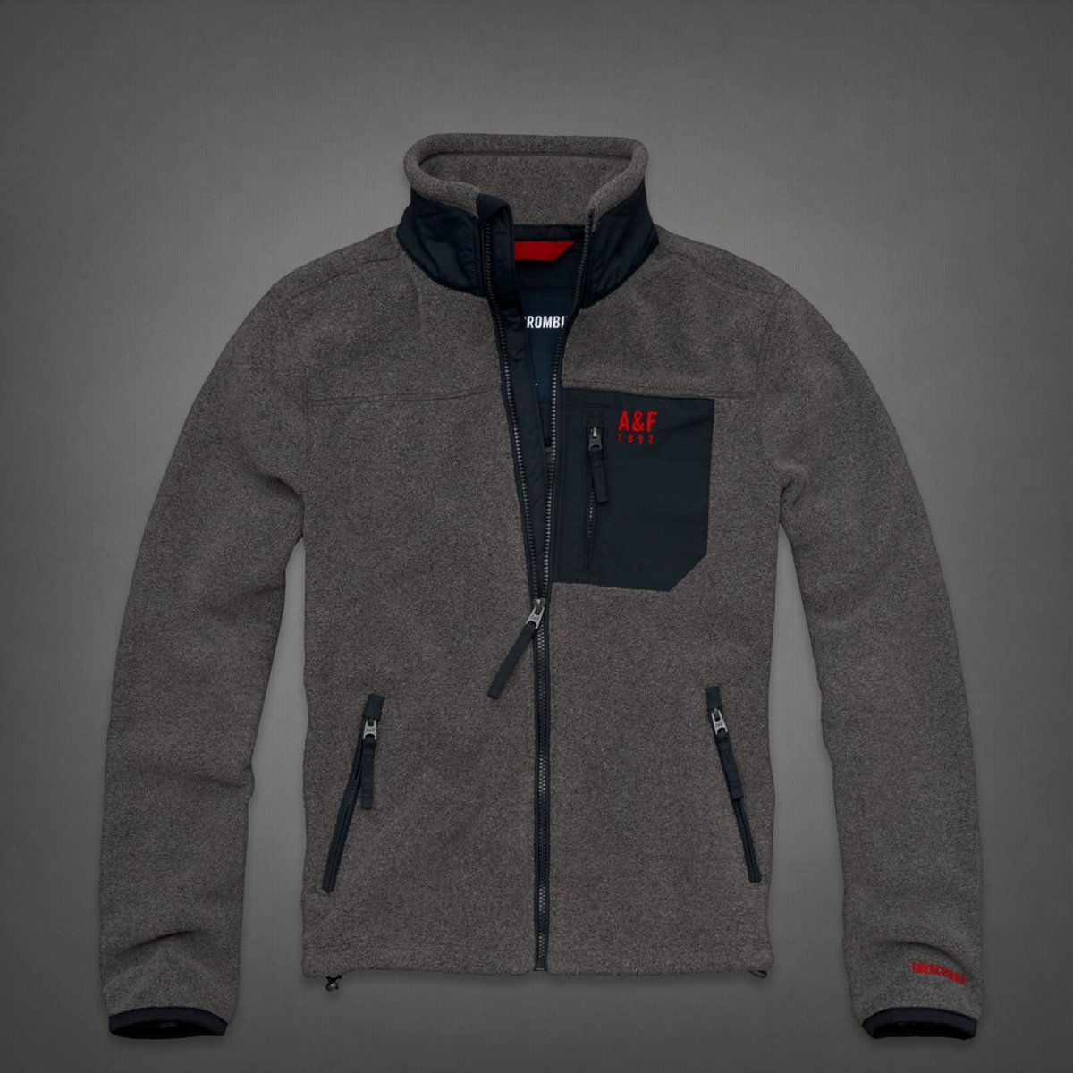 351c63b9ff Mountain Fleece Jacket by Abercrombie & Fitch, $140 | / clothes ...