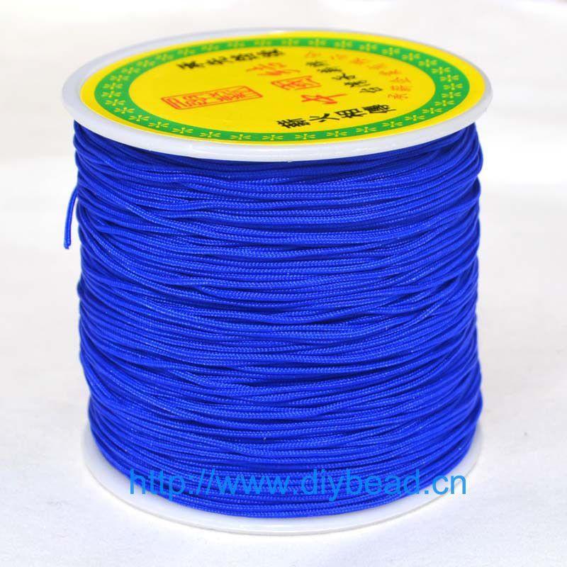 20 Colors 20m Nylon Cord Thread Chinese Knot Macrame Cord Bracelet Braided String DIY Tassels Beading Shamballa String Thread
