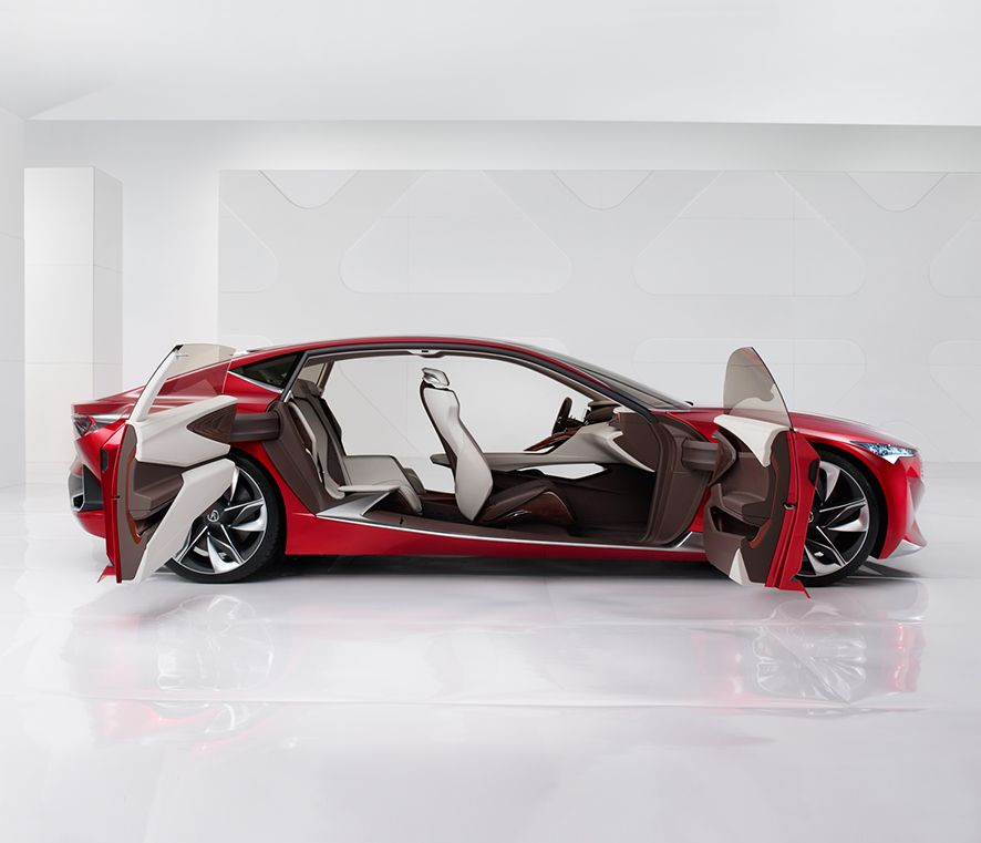 Worksheet. The Exciting Acura Precision Concept At The Chicago Auto Show