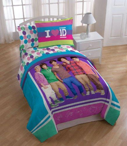 One Direction Sheet Set (Twin Sheet Set), 2015 Amazon Top Rated Sheets U0026