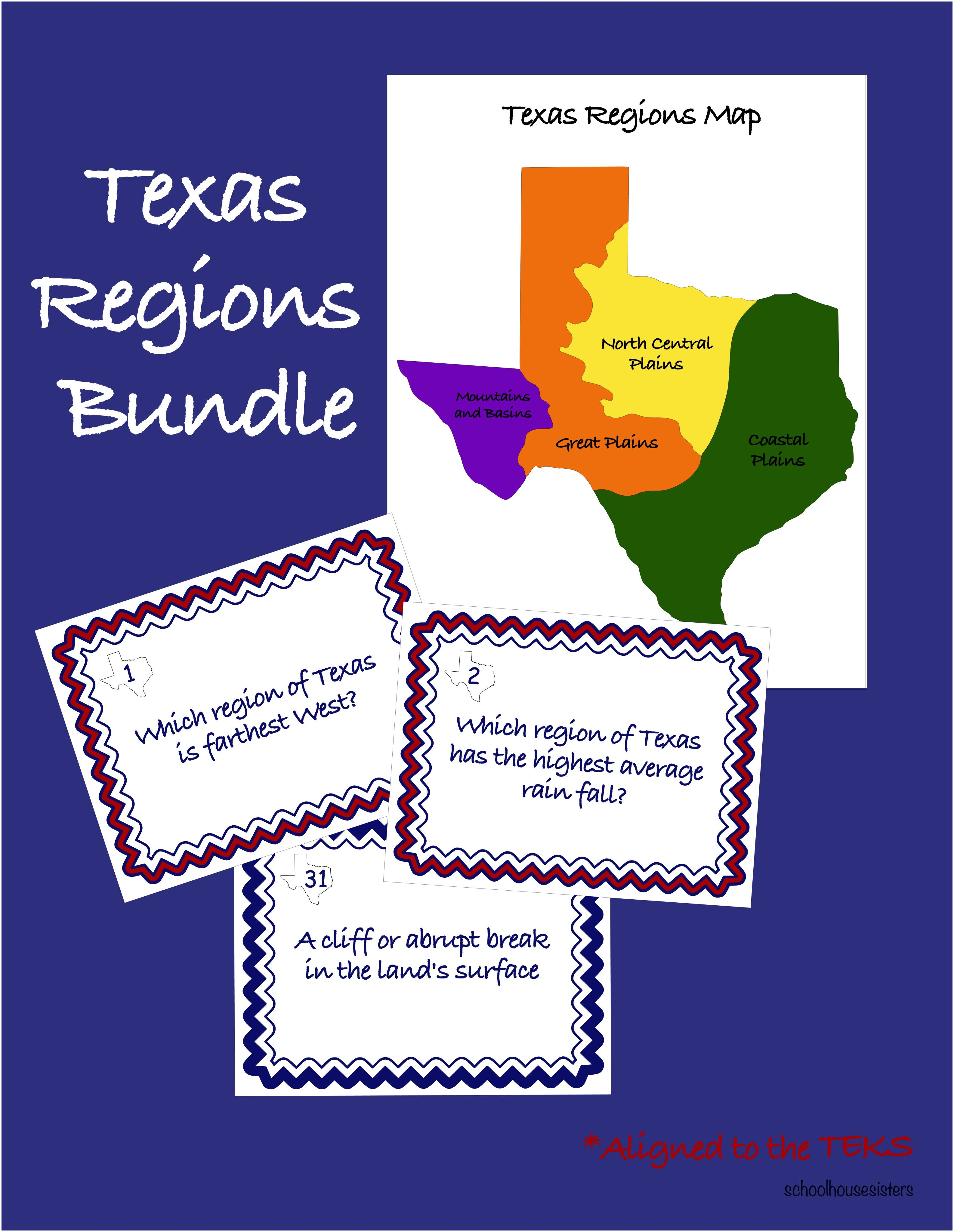 Texas Regions Bundle