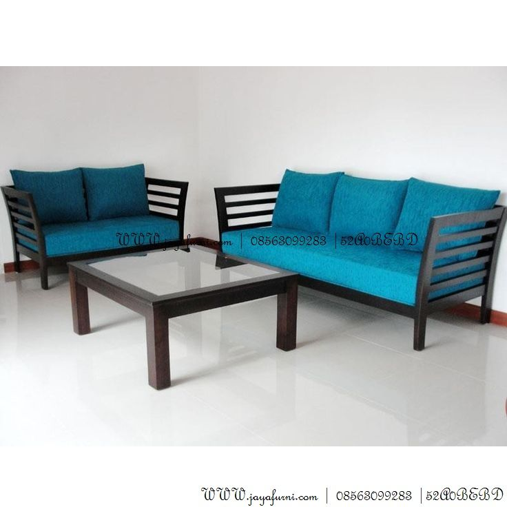 Modern Wood Sofa kursi sofa minimalis ruang tamu modern | kursi tamu minimalis