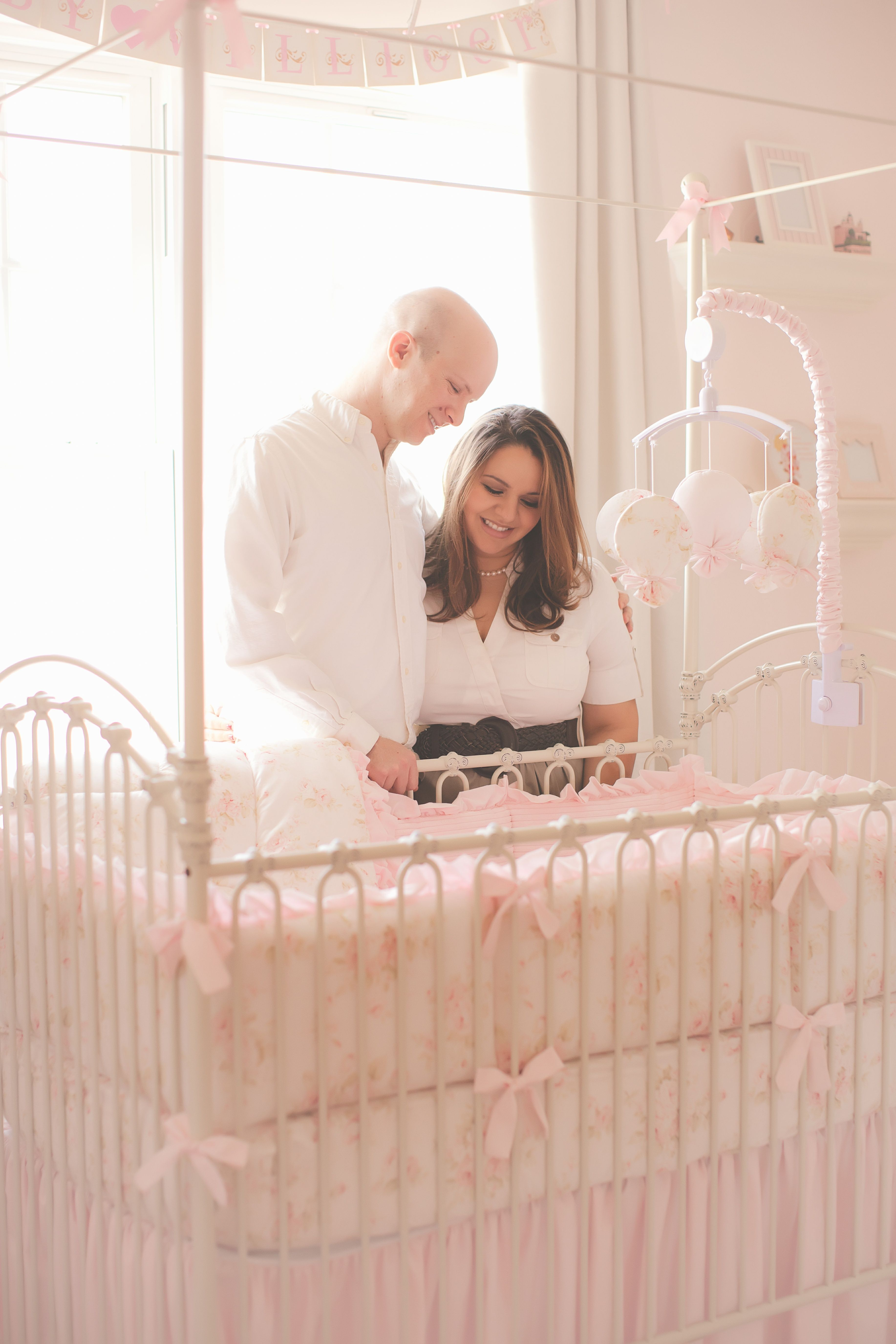 Harper Nursery! Pink and feminine nursery for a