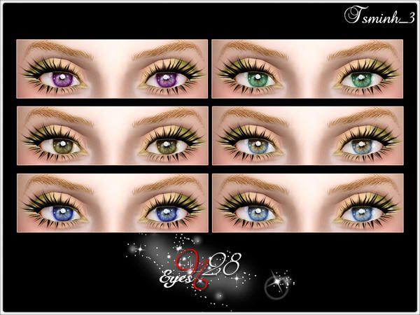 TsminhSims' Eyes N25