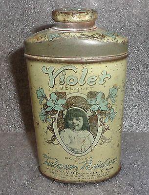 scarce-old-Violet-Bouquet-talcum-powder-tin