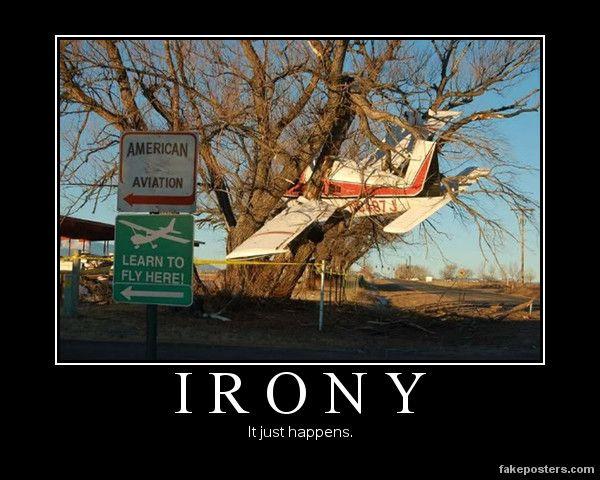 Ironic pictures, Aviation humor, Learn to fly