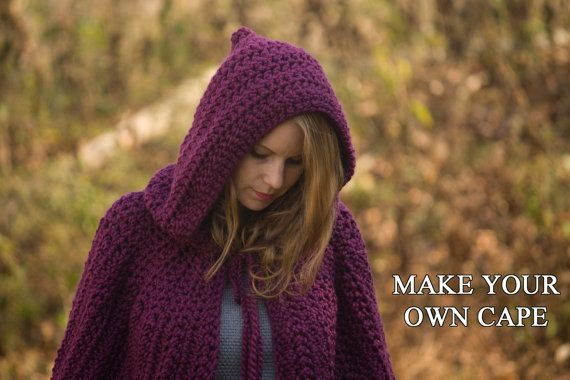 Image Result For Crochet Hood Pattern Crochet Pinterest Cape