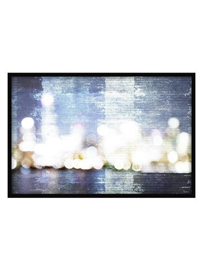 City Scape by Parvez (Shadow Box Framed) by Parvez Taj at Gilt